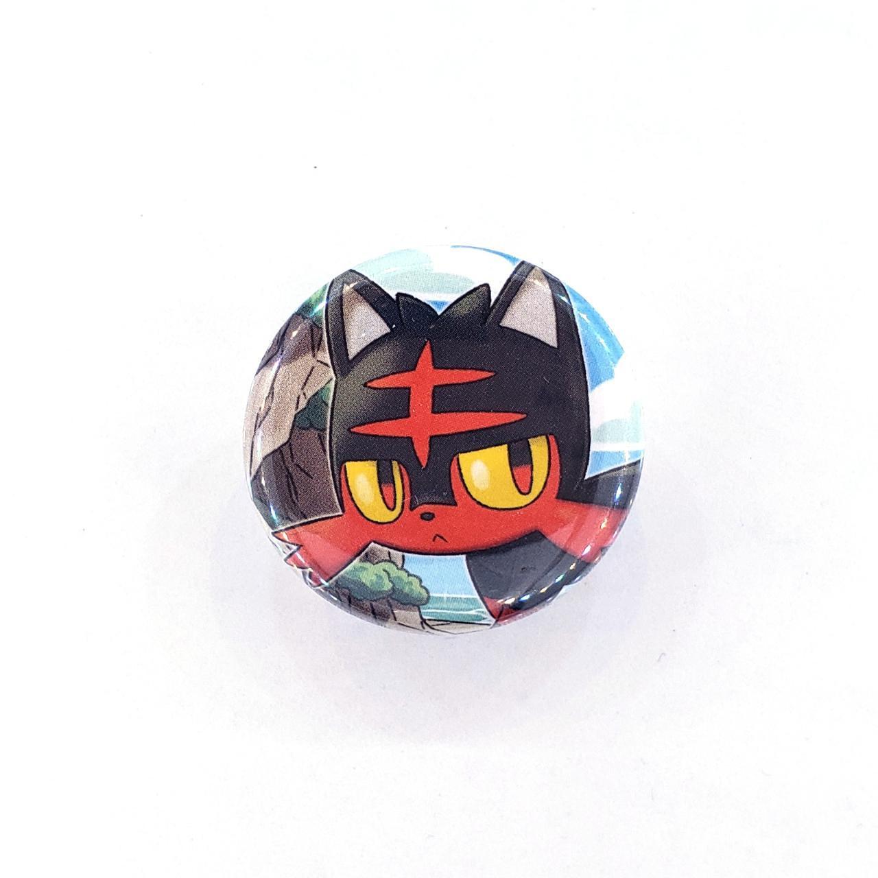Product Image 1 - Litten Pokémon Collet Back Pin