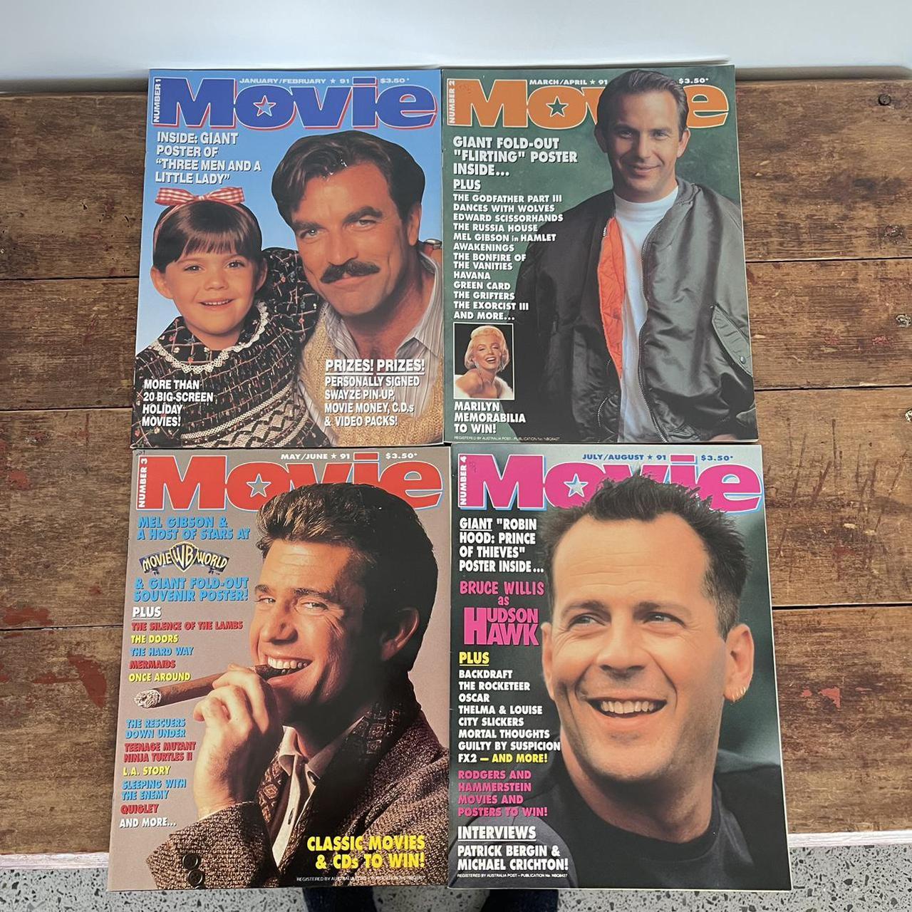 Product Image 1 - 1991 MOVIE Magazine Australia X