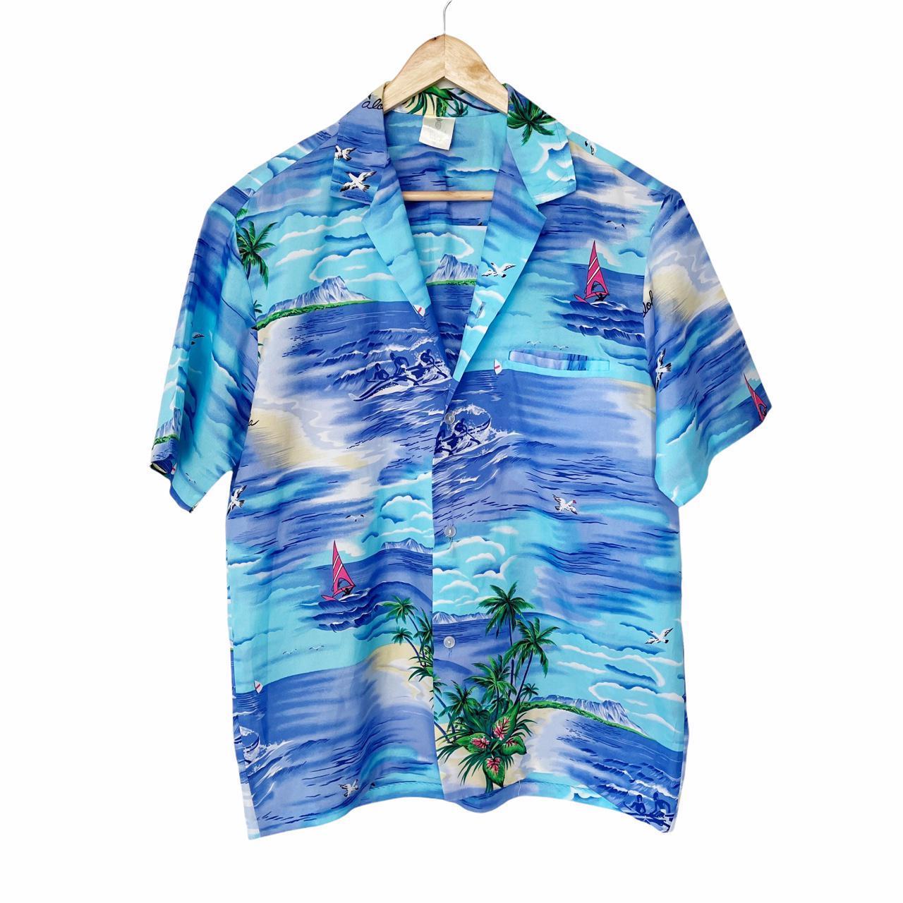 Product Image 1 - Vintage Mens Hawaiian Tropical Shirt