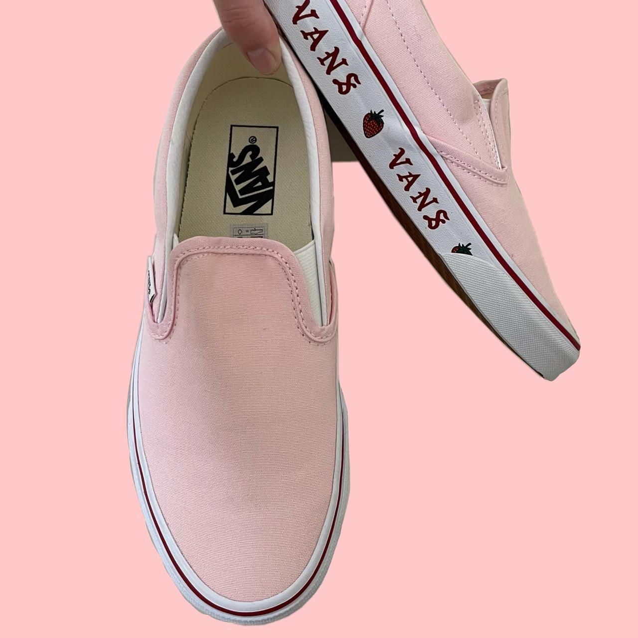 Product Image 1 - Vans Slip-On Strawberry Sidewall Pink
