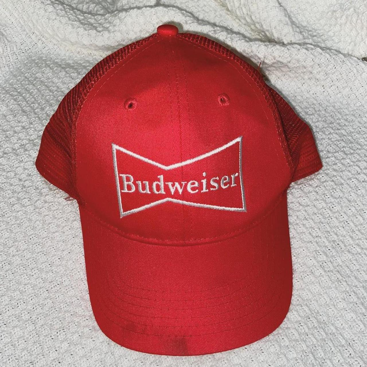 Product Image 1 - BUDWEISER HAT red small stain on