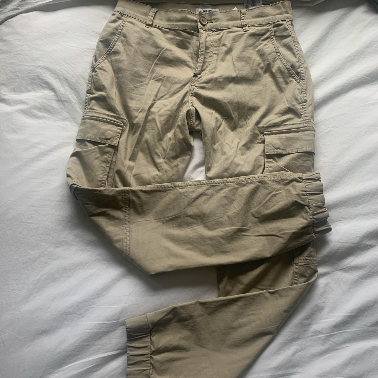 Product Image 1 - Khaki cargo pants. Only &