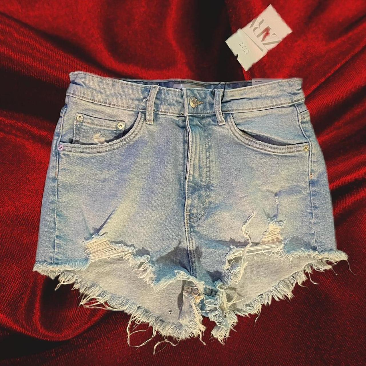 Product Image 1 - ZARA High Rise Denim Shorts