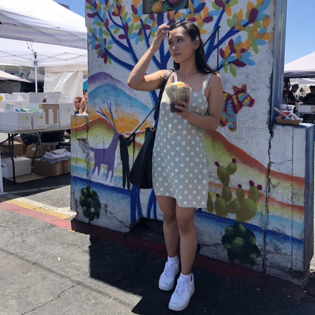 Product Image 1 - Cute mint polka dot dress Free