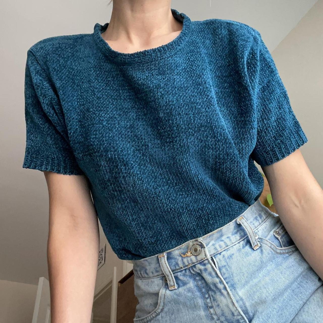 Product Image 1 - Vintage teal corduroy knit cozy