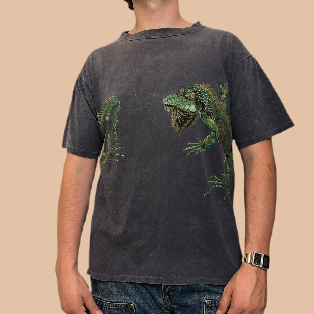 Product Image 1 - 🔥🦎VINTAGE REPTILE SHIRT🦎🔥 -Vintage Harlequin shirt