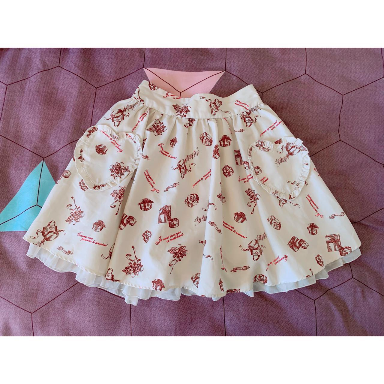 Product Image 1 - Ank Rouge skirt with heart