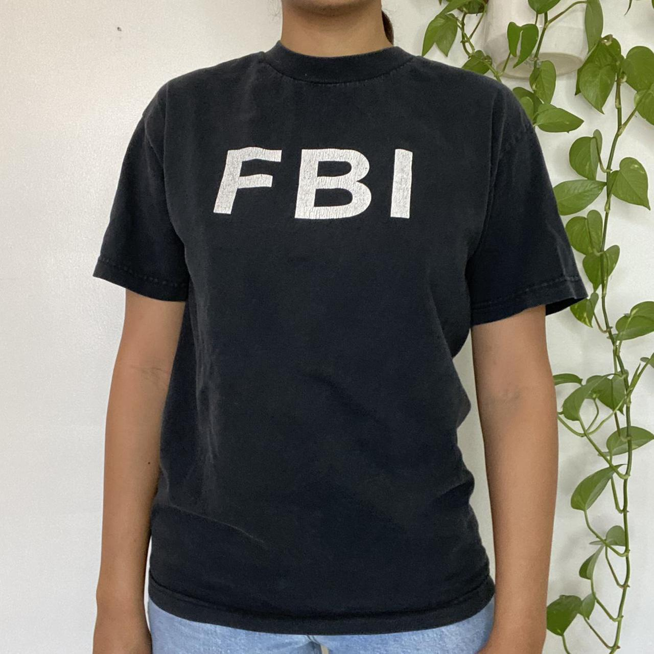 Product Image 1 - FBI t-shirt 🖤  Black t-shirt with