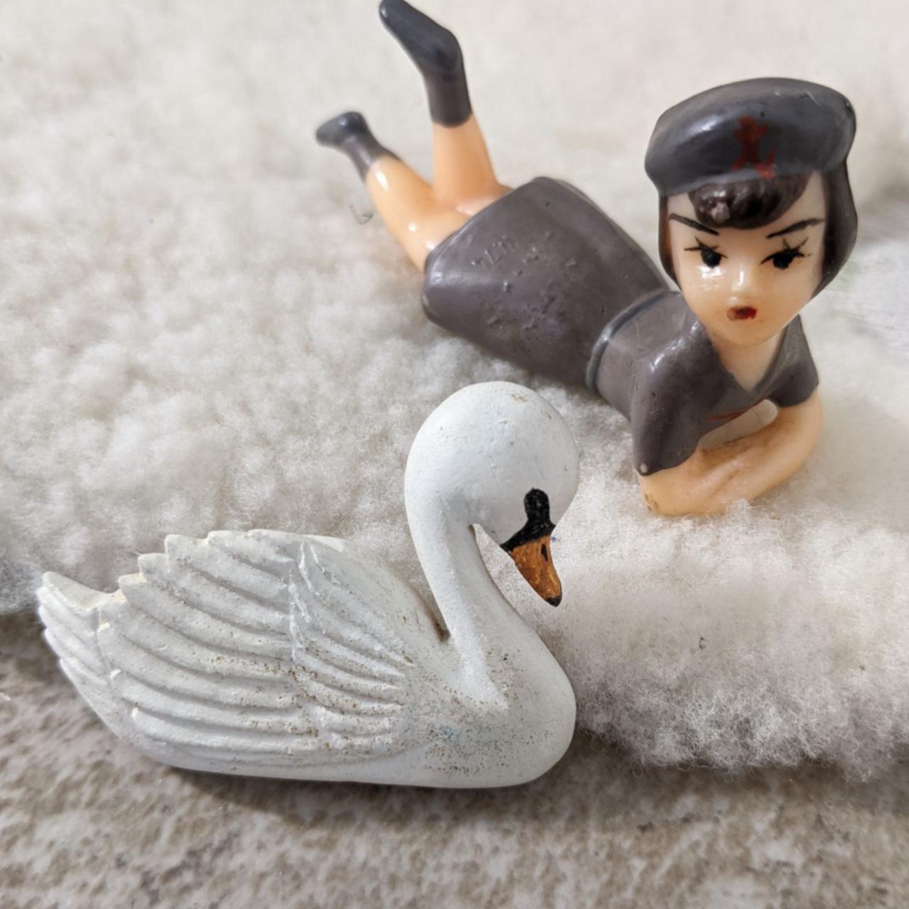 Product Image 1 - 💎Vintage Artisan Signed Wood Swan