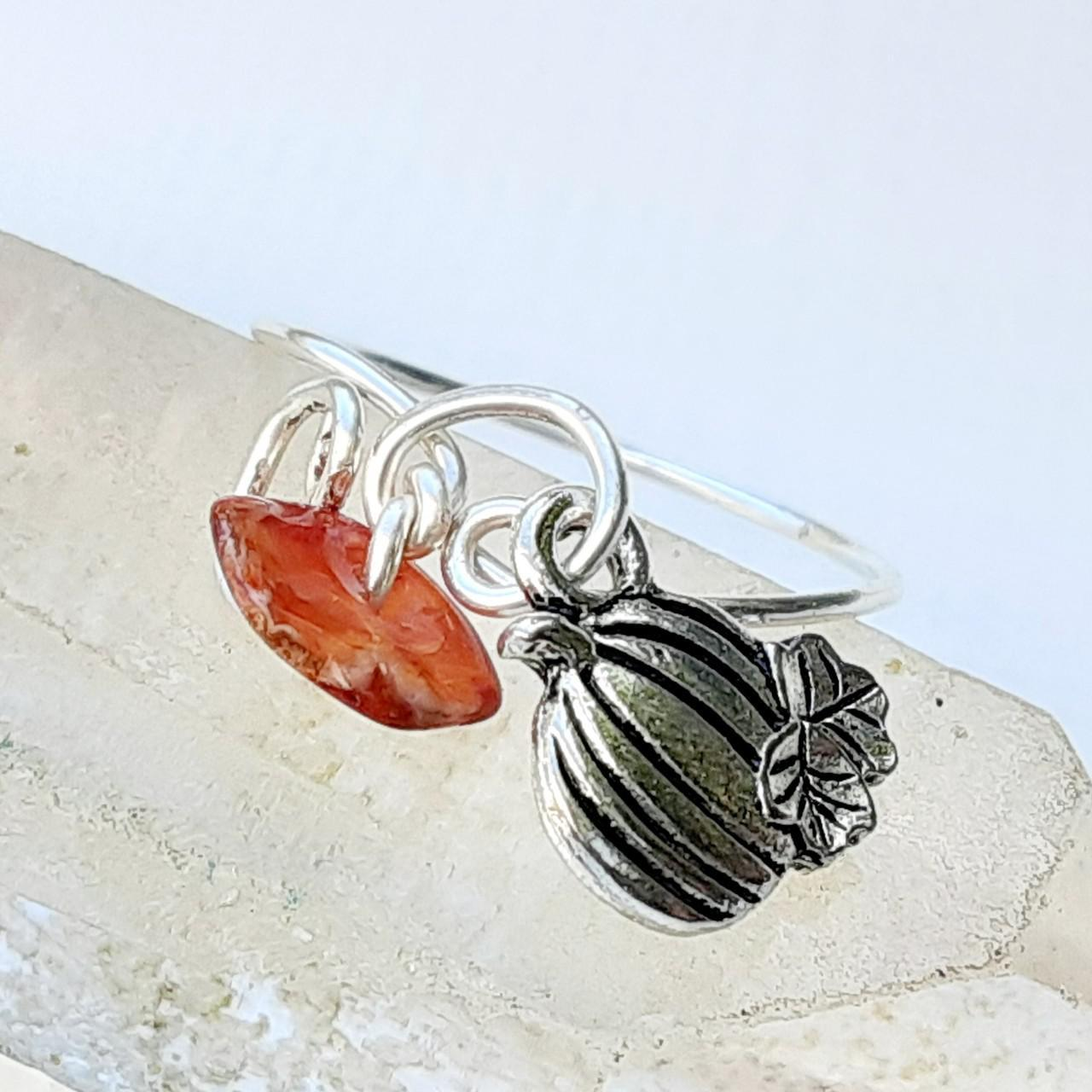 Product Image 1 - Crystal ring. Tarnish resistant silver wire
