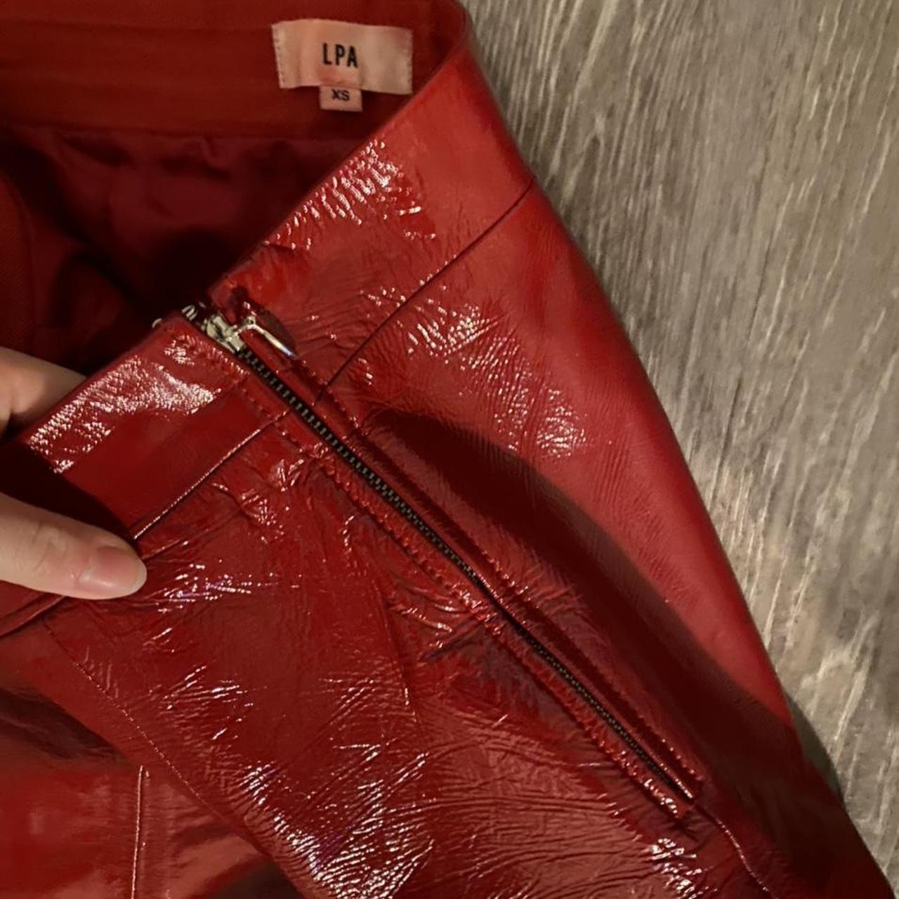 Product Image 1 - LPA Agata red leather pants!