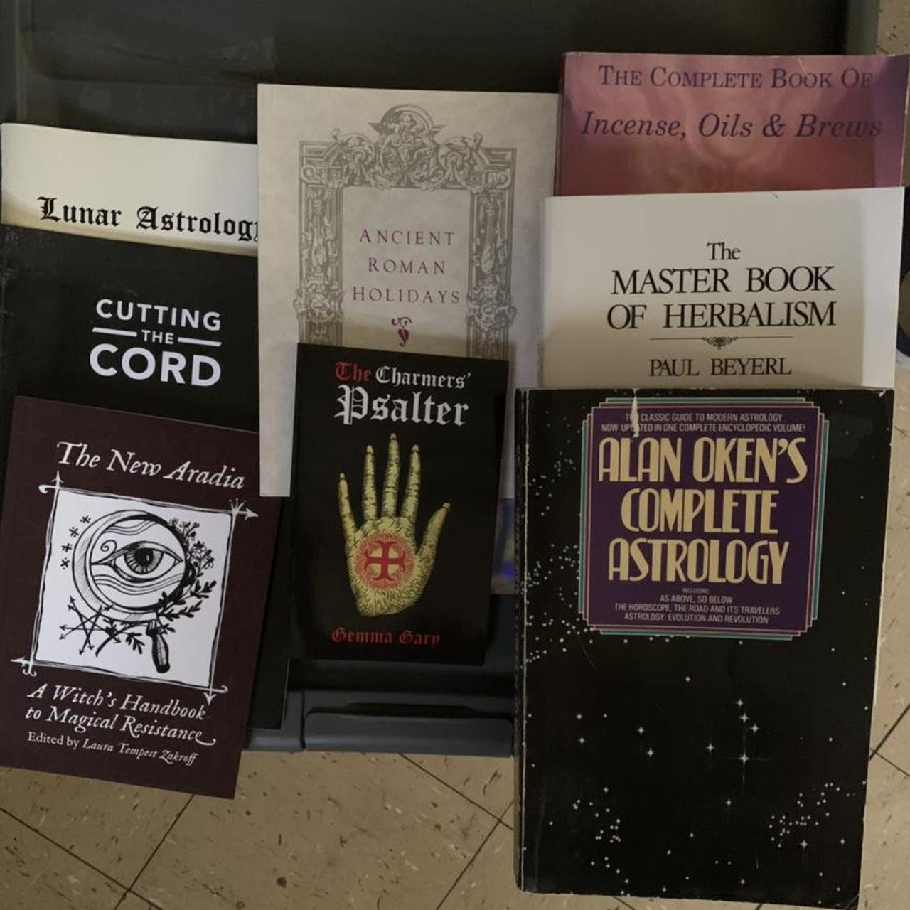 Product Image 1 - lot of witchcraft books/zines. not