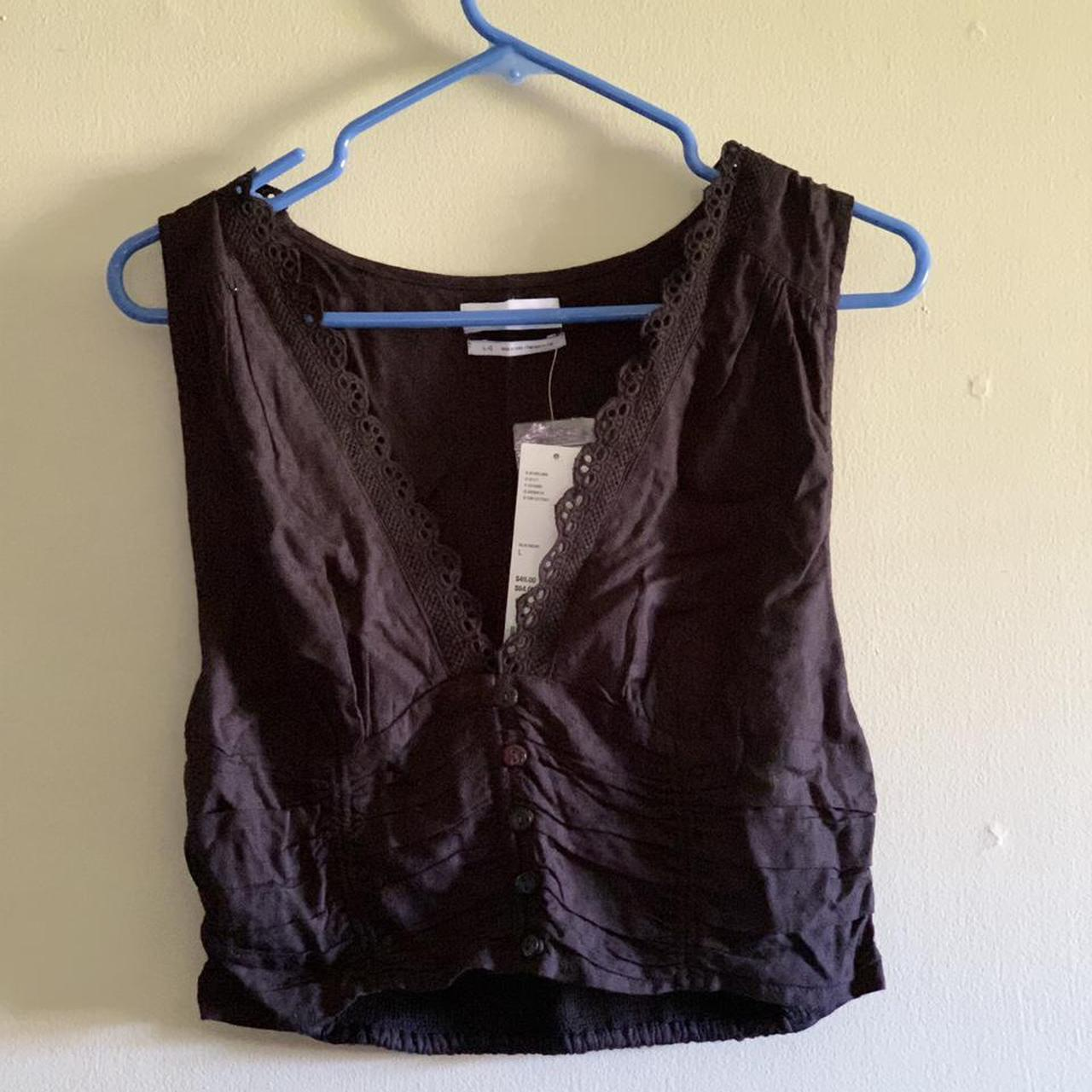 Product Image 1 - urban outfitters cropped sleeveless top,