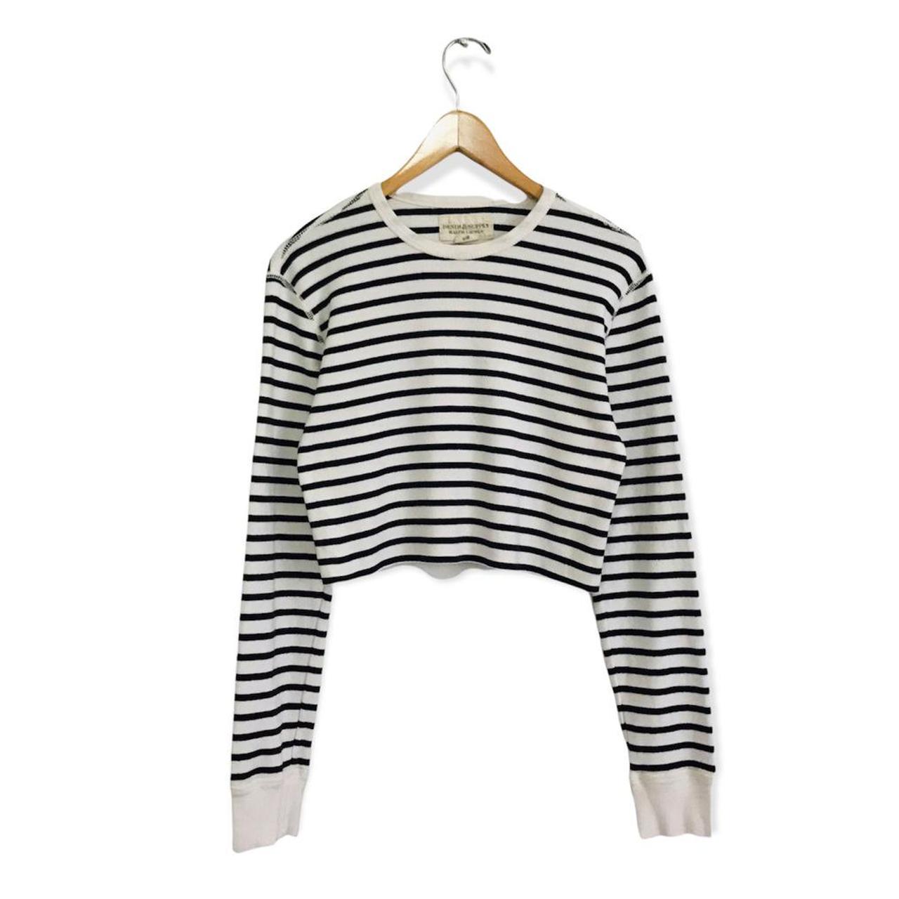 Product Image 1 - Black & White Crop Top  Super
