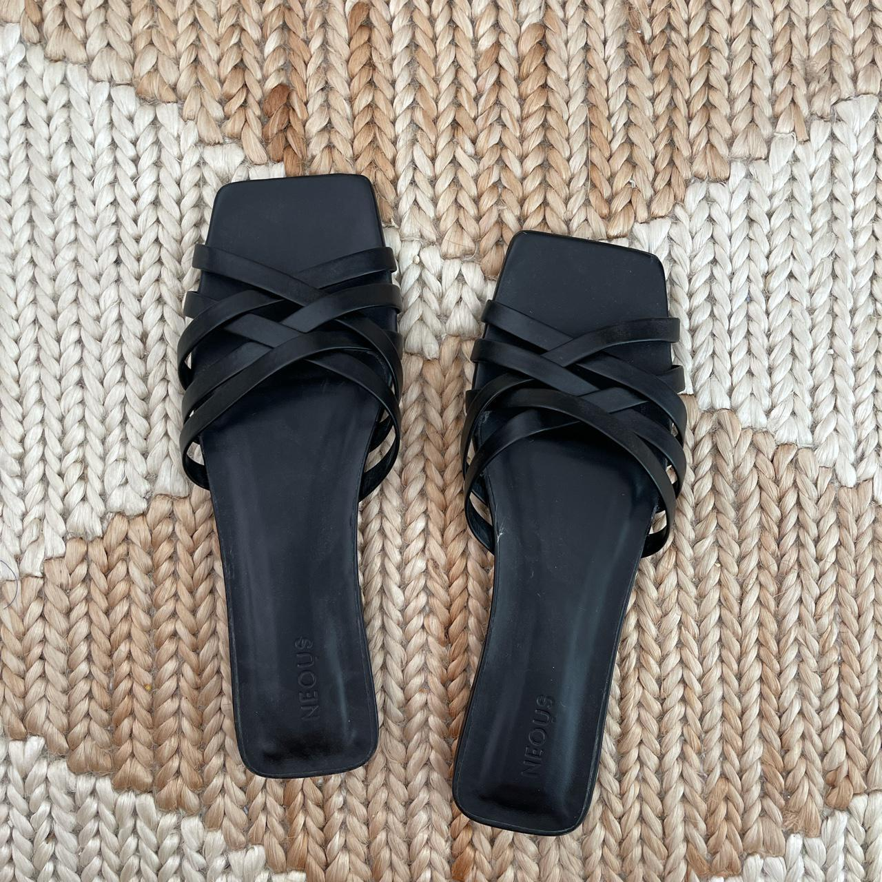 Product Image 1 - Neous black strap leather sandals,