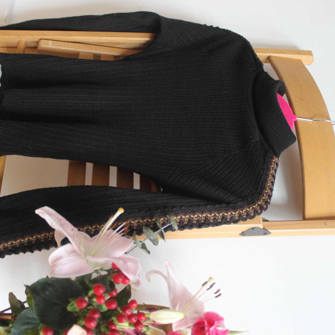 Product Image 1 - Black knitted high neck top