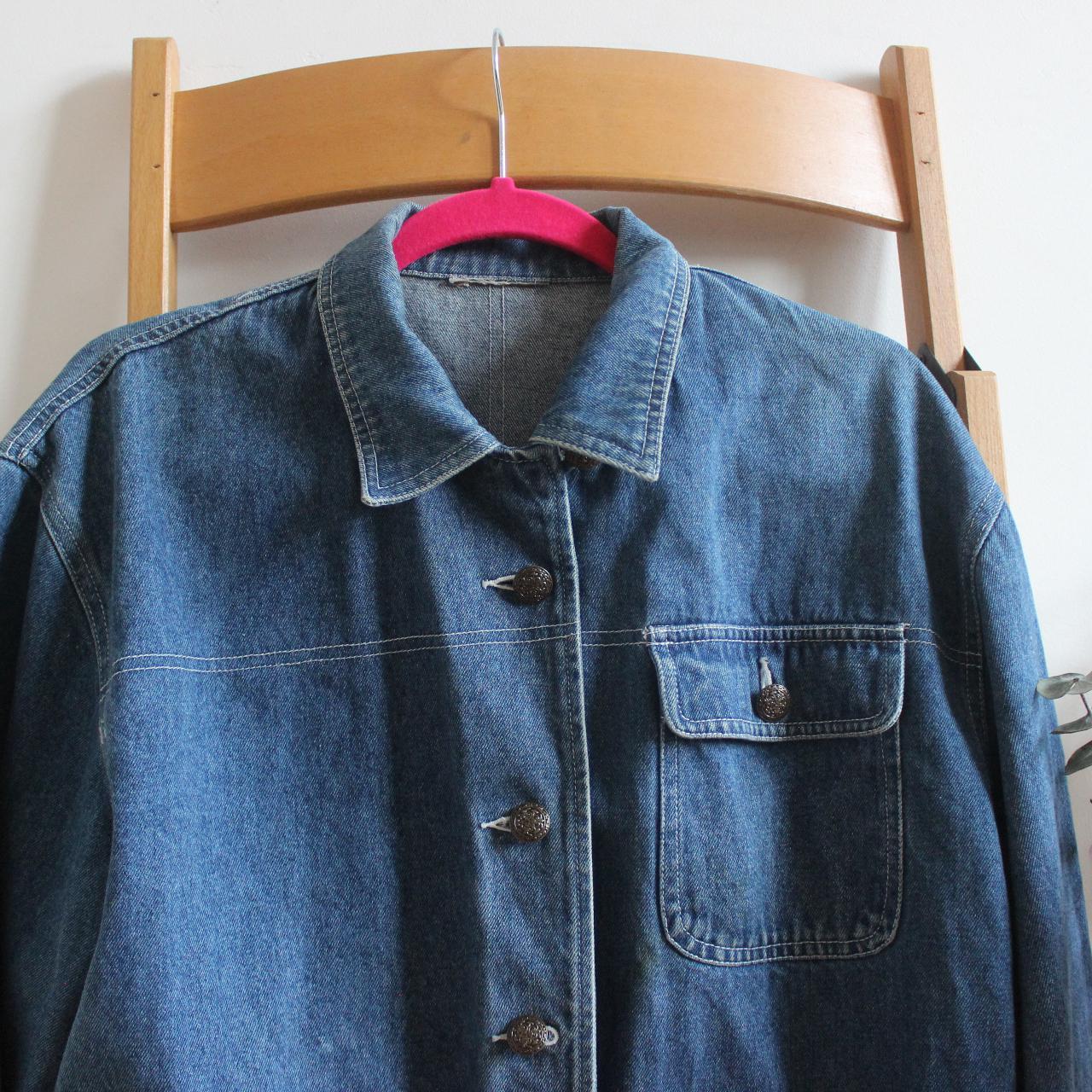 Product Image 1 - long denim jacket/shirt  smart and cute