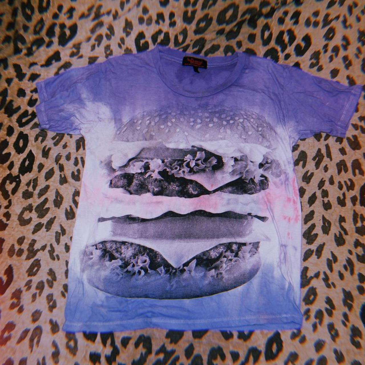 Product Image 1 - #Tiedye #cheeseburger tee from #HollywoodMirror.  Check