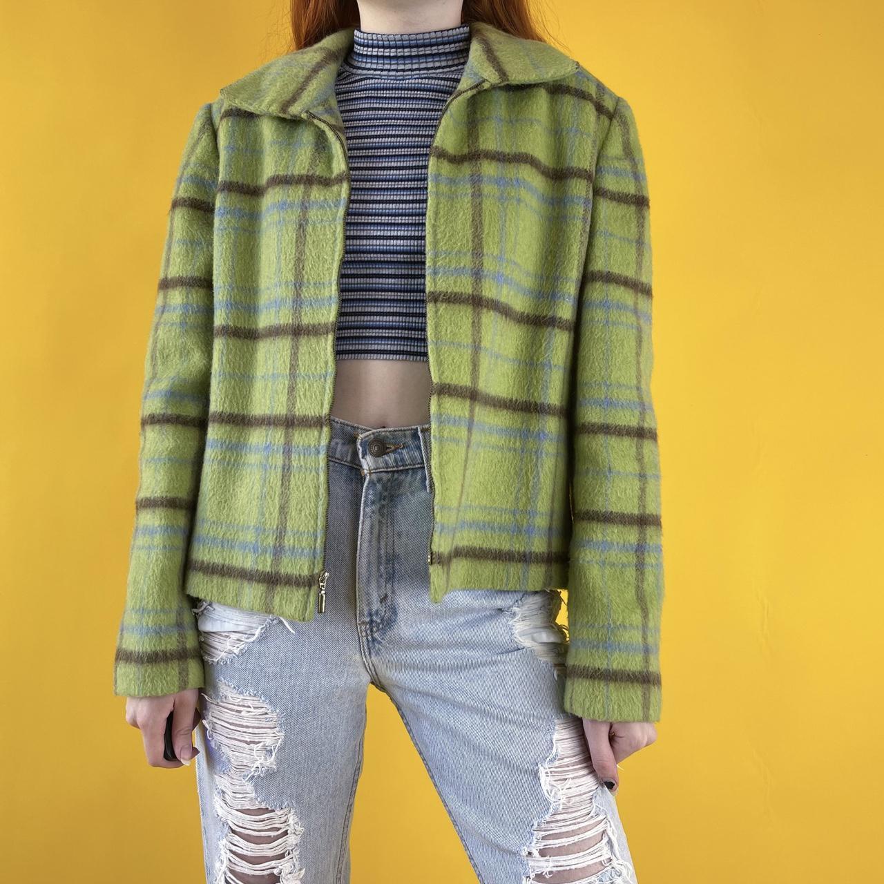 Product Image 1 - vintage plaid jacket 💚 features
