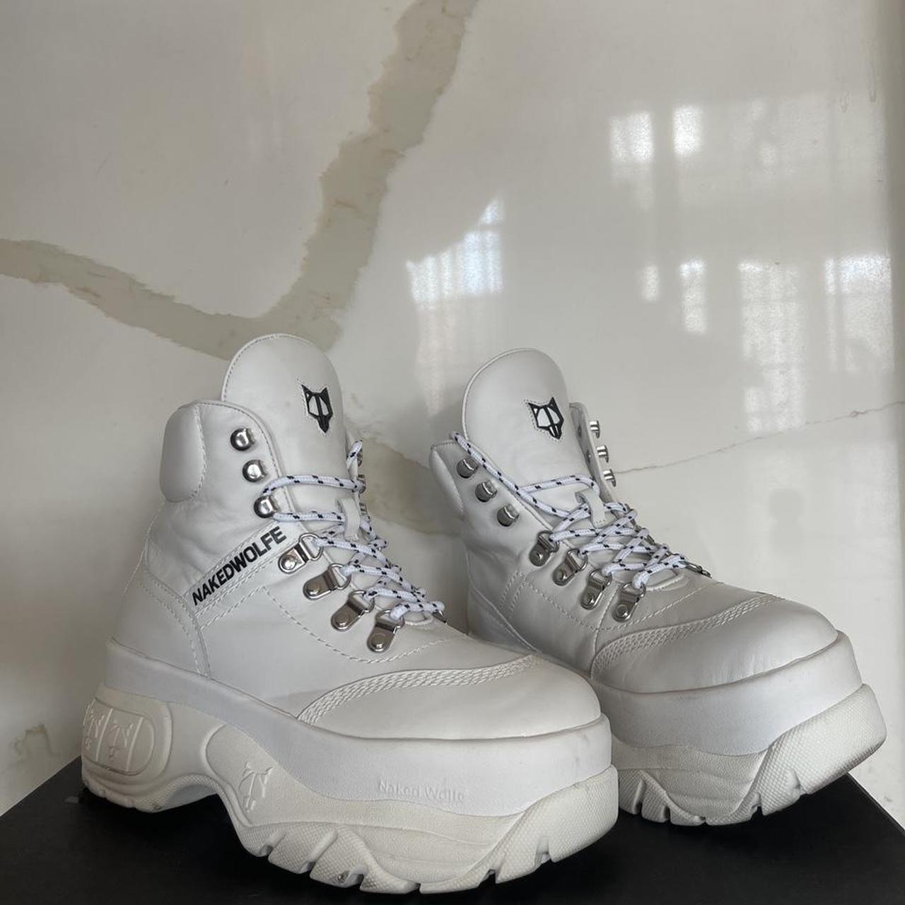 Product Image 1 - Naked Wolfe platform boots. Worn