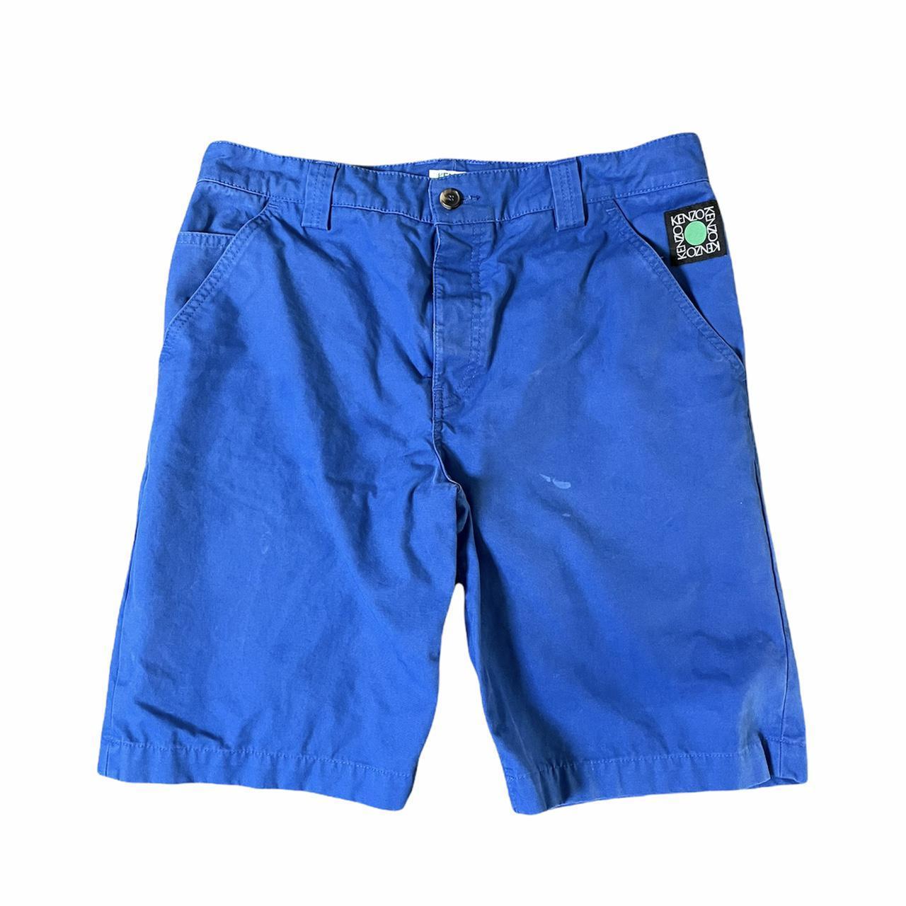 Product Image 1 - Kenzo Chino Shorts  Size 32  Kenzo Paris