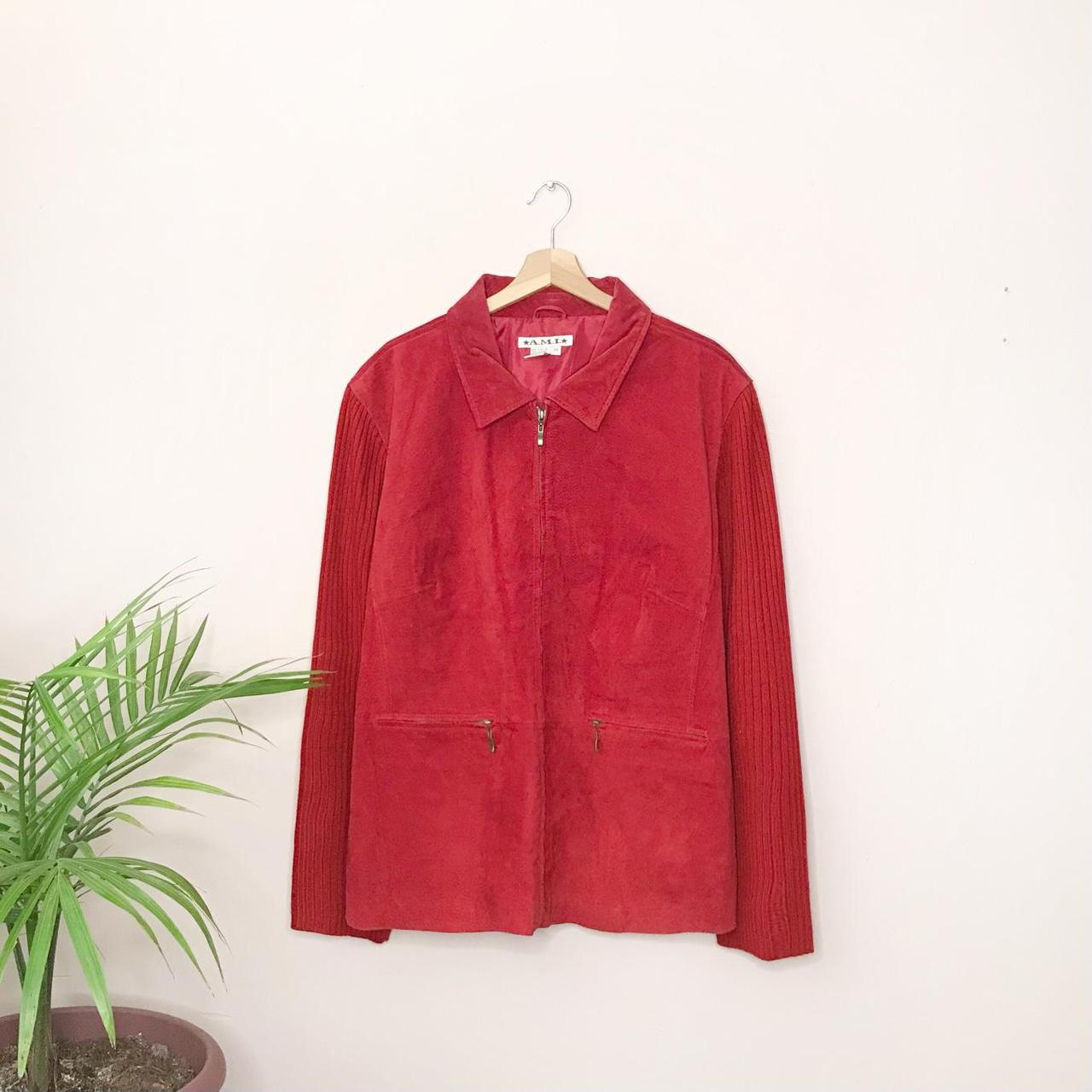 Product Image 1 - Vintage A.M.I. brand suede jacket