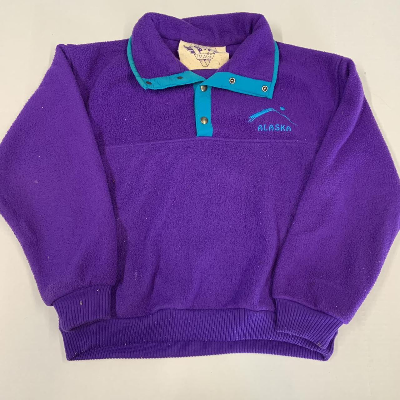 Product Image 1 - Vintage 80s/90s Purple Embroidered Alaska