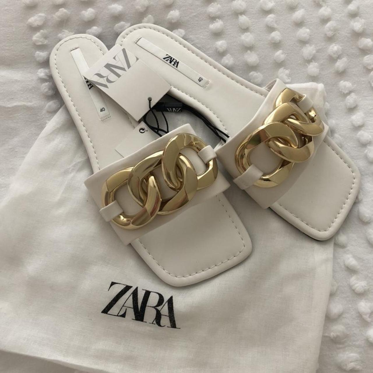 Product Image 1 - BRAND NEW white zara sandals