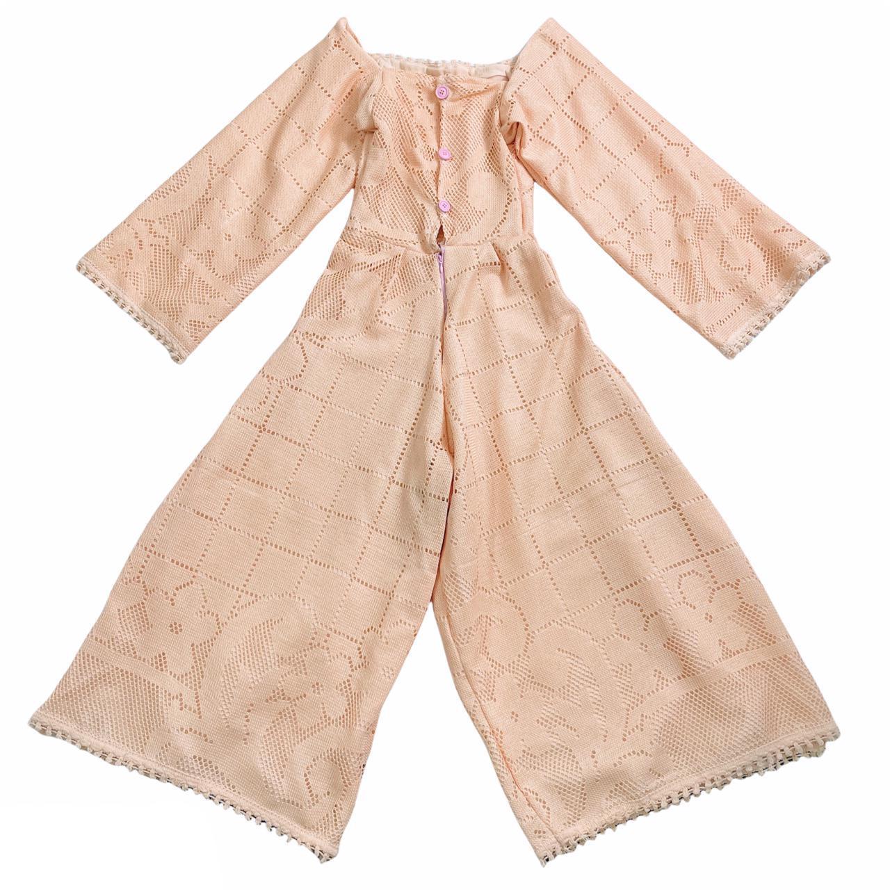 Product Image 1 - Peach vintage jumpsuit   Vintage handmade