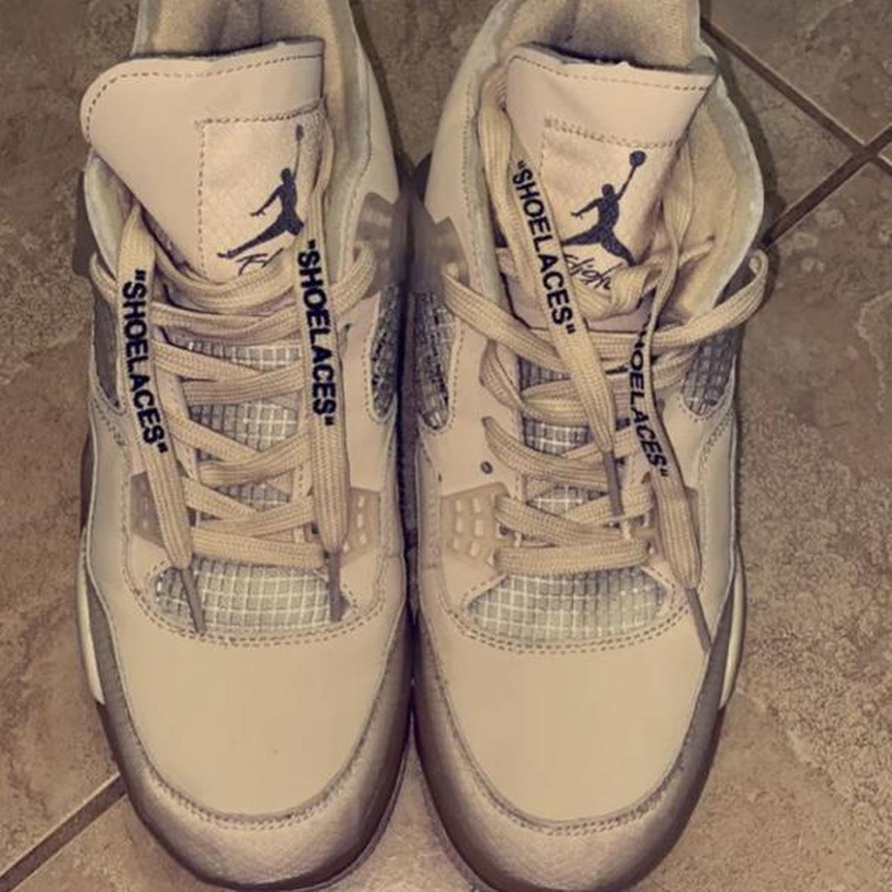 Product Image 1 - Jordan 4 off white sail,