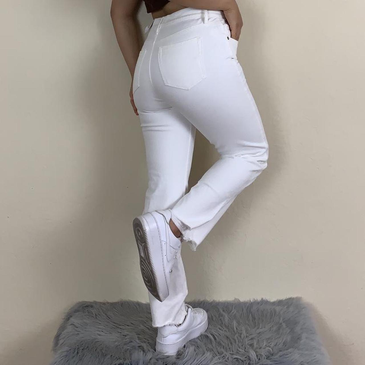 Product Image 1 - High waisted white pants!!  Okay