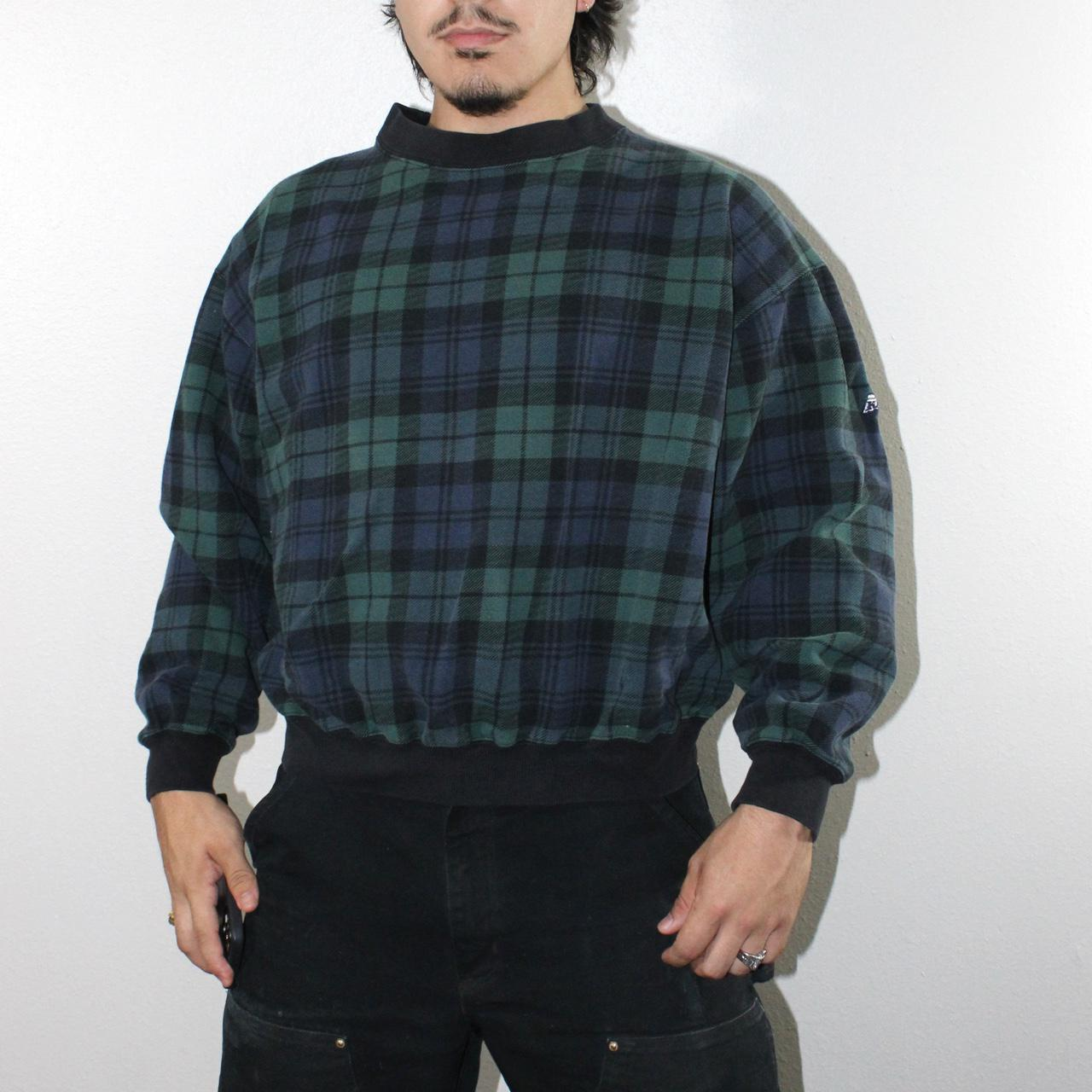 Product Image 1 - Vintage Plaid Patterned Sweater   Excellent