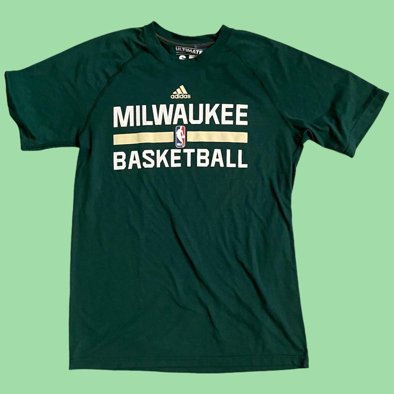 Product Image 1 - Adidas Milwaukee Bucks Basketball tee.