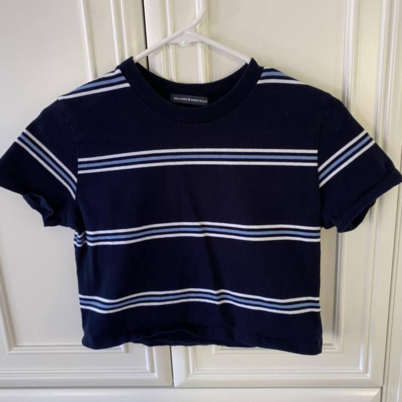 Product Image 1 - Brandy Melville stripped crop top