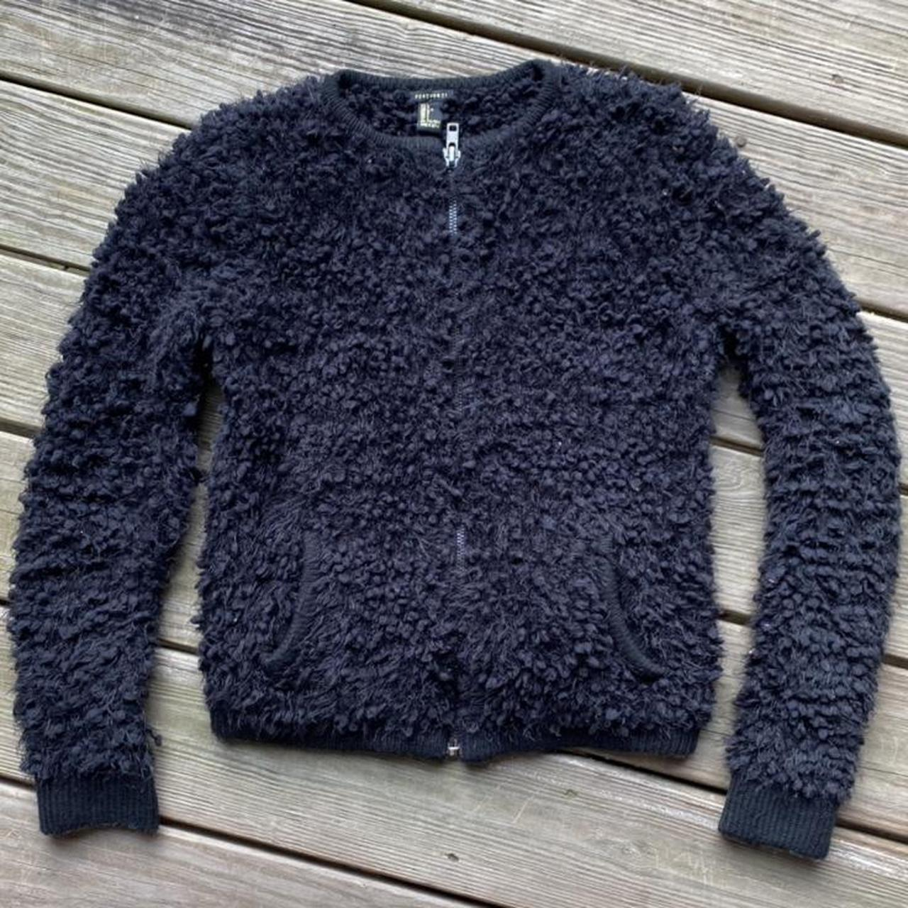 Product Image 1 - Fuzzy zip up jacket from