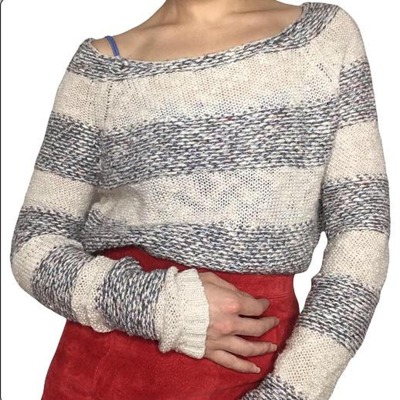 Product Image 1 - Cute knit white and grey